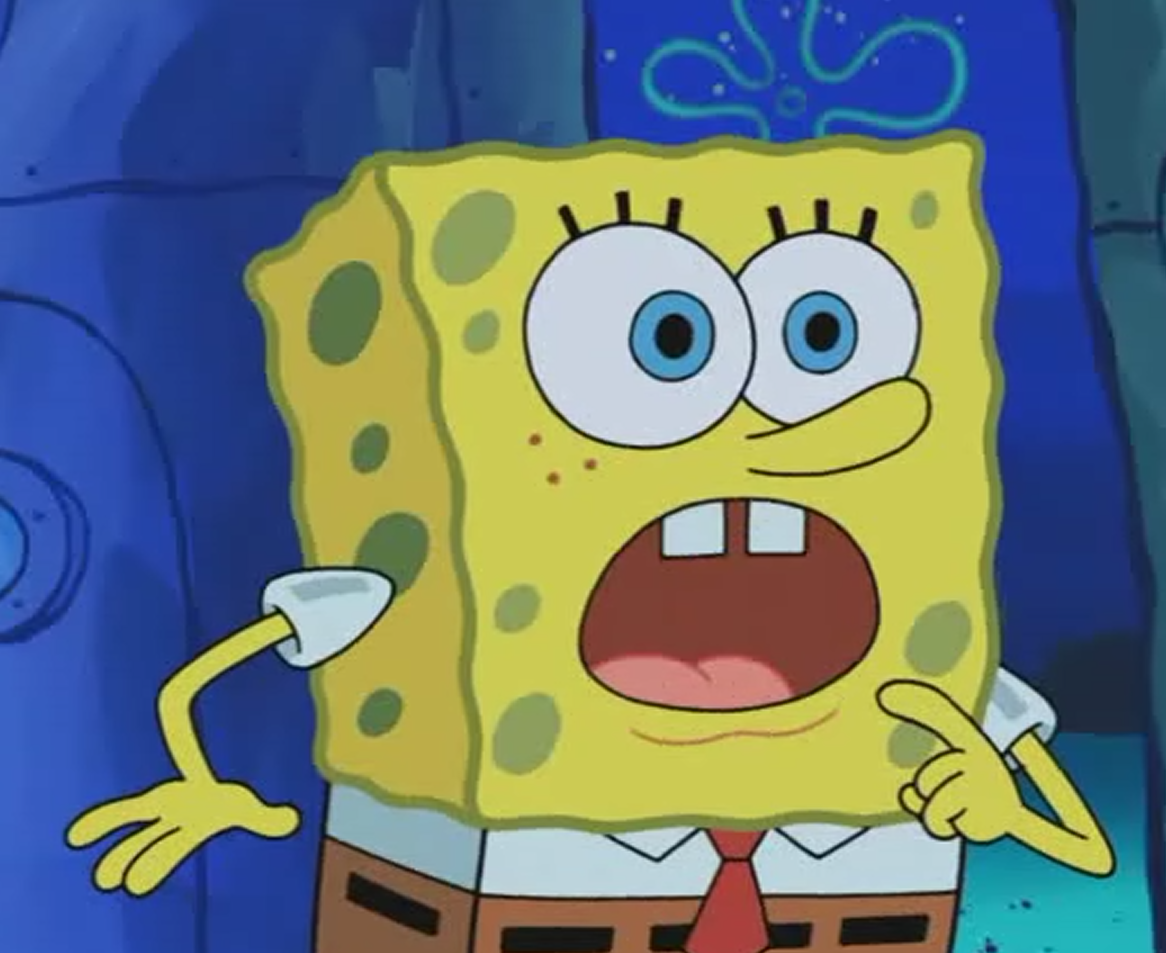 Excited Spongebob Face Face Spongebob Squarepants