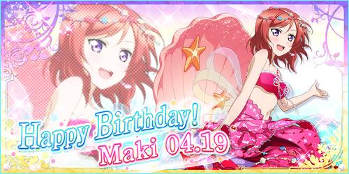 Happy Birthday, Maki! 2016