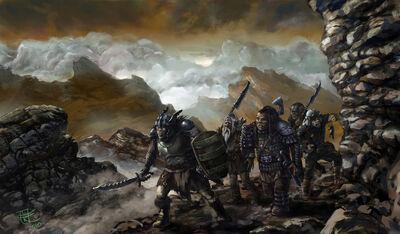 Ancient Orcs of Mordor