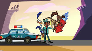 Wile E. Coyote and Road Runner Both Get Arrested MAD