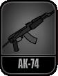 AK74 icon