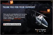 Rescue Chopper Bought