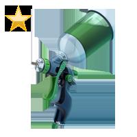 Huge item paintItgreen gold 01