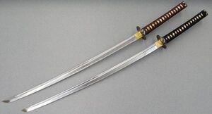 Samurai-swords