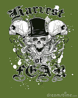 Green-skulls-t-shirt-design-thumb5059737