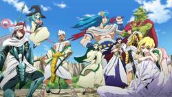 8 Generals