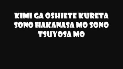 Magic Knight Rayearth- Hikari to Kage wo Dakishimeta mama w lyrics..