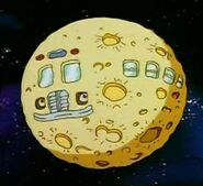 Magic Space Bus Out of This World - moon