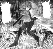 Ala Rubra defending Asuna
