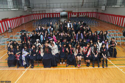 MajisukaGakuen GraduationCast BeforeShooting