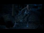 Zac using telekinesis to push Lyla away.