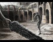 Rhulad on the arena by araiwein
