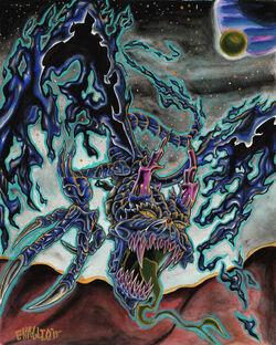 Draconus Descends by Enaglio