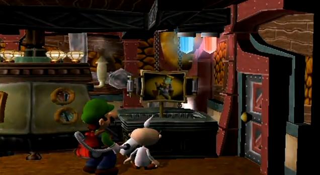 Luigi S Mansion Guest Room Boo