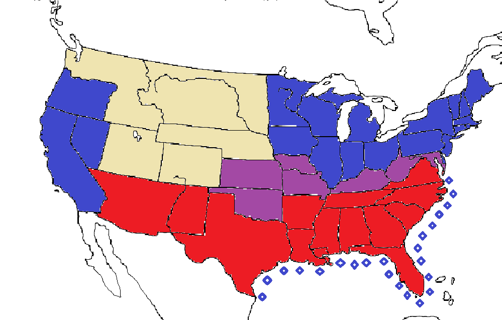 Civil War Map Game Map Game Wiki FANDOM Powered By Wikia - Map of us confederate and union states 1860