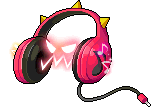 Mob Red Headphones