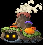 Mob Brown Volcano Bug