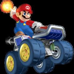 Mario holding a <a href=