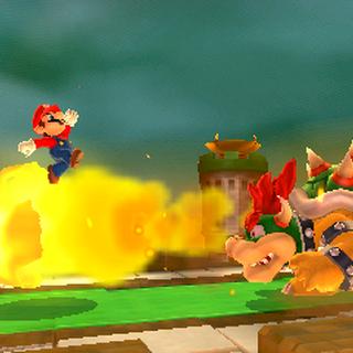Mario fighting <a href=