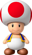 Toad (Red) NSMBW
