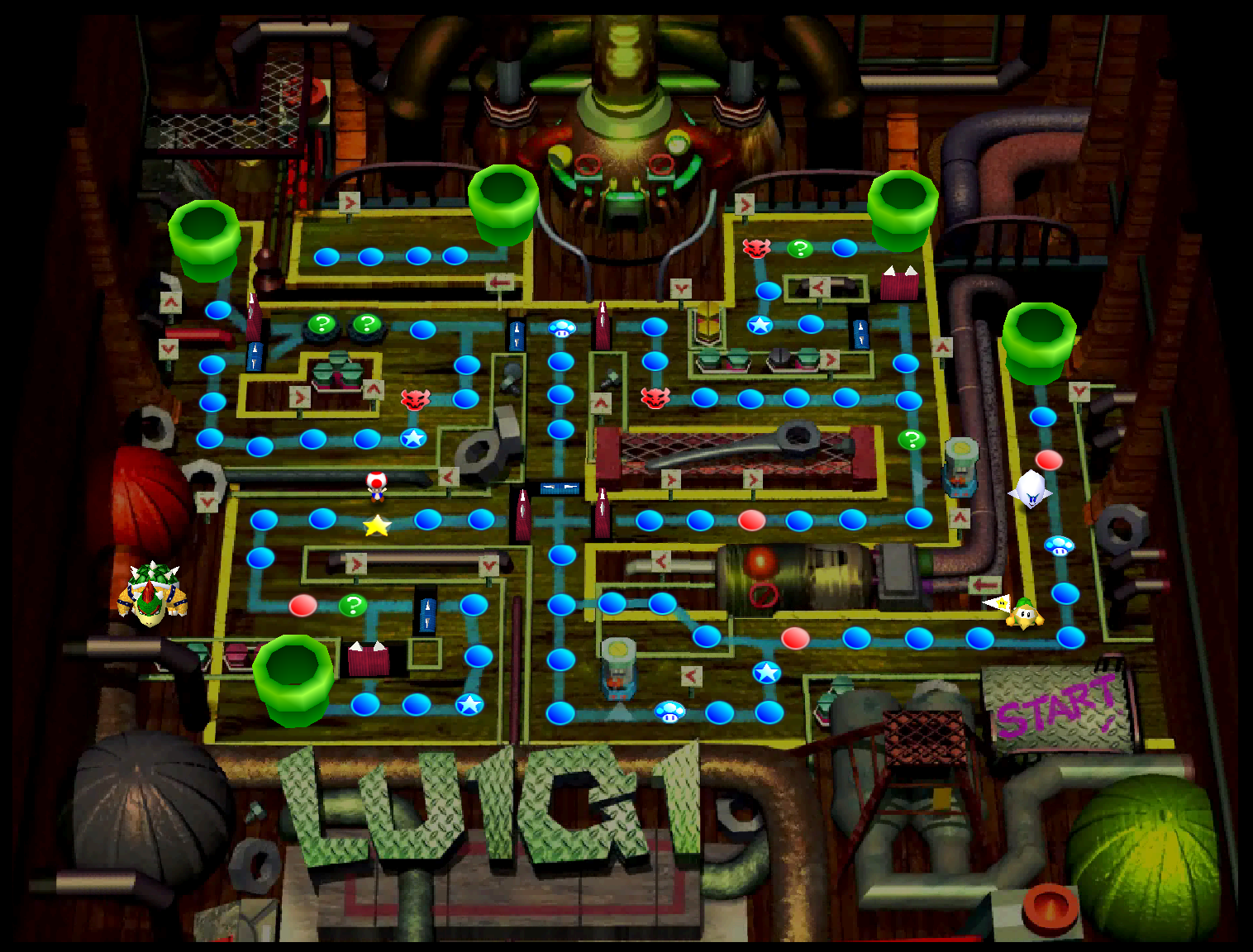 Luigi 39 s engine room mariowiki fandom powered by wikia - Luigi mario party ...