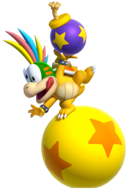 Lemmy Koopa, New Super Mario Bros. U