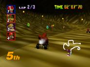 DK's Jungle Parkway - Cave - Mario Kart 64