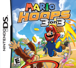 Mario Hoops 3-on-3 - North American Boxart