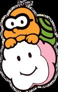 Lakitu Art (Super Mario Bros.)