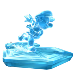 Ice Mario Artwork - Super Mario Galaxy