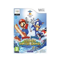 Mario & Sonic at the Olympic Winter Games (First ever Mario & Sonic series game with Adventure Mode.)