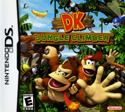 DK Jungle Climber (North American boxart)