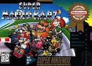 Super Mario Kart Box Art