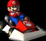 MKDS-Mario Artwork