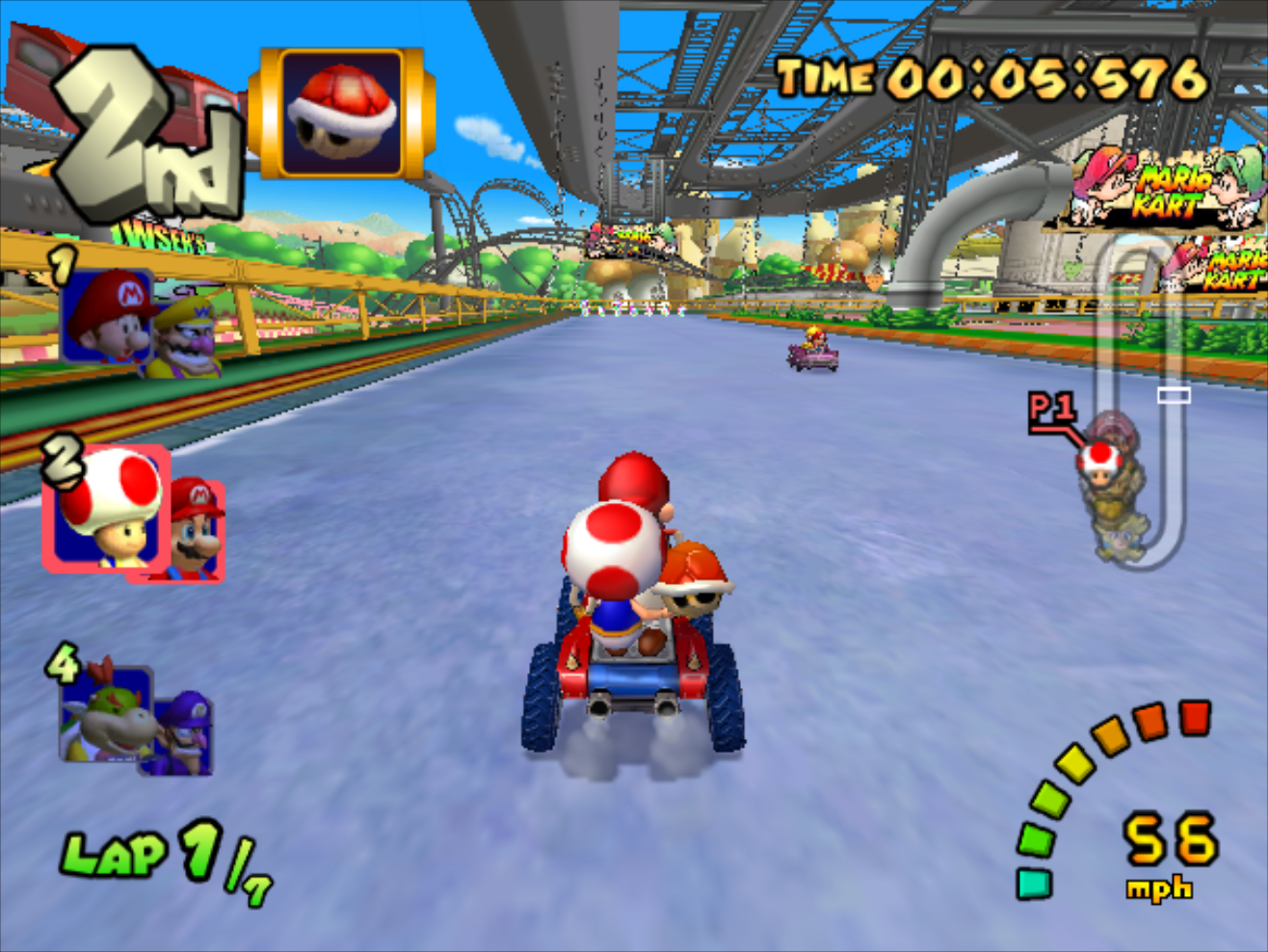 ... Park (GCN) - 2.png | Mario Kart Racing Wiki | Fandom powered by Wikia