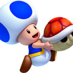 Fan art of Blue Toad with a freakin' deadly <a href=