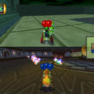 Luigi Mansion Battle Stage Mario Kart Racing Wiki Fandom Powered Wikia