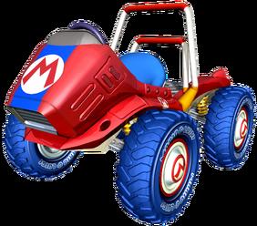 Red Fire - Artwork - Mario Kart Double Dash!!