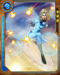 Psychokinetic Invisible Woman