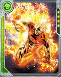 Ball of Fire Human Torch