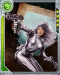 Huntress Silver Sable