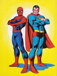 Superman Vs The Amazing Spider Man Vol 1 1 Dc Database