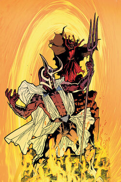 DCU Special Reign in Hell Art