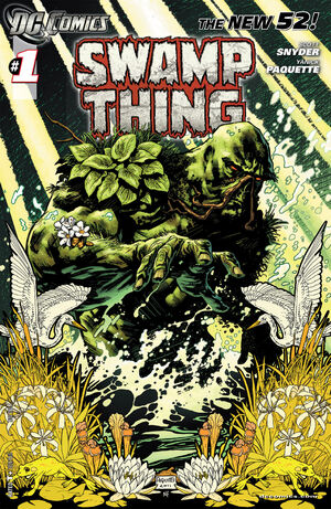 Cover for Swamp Thing #1 (2011)