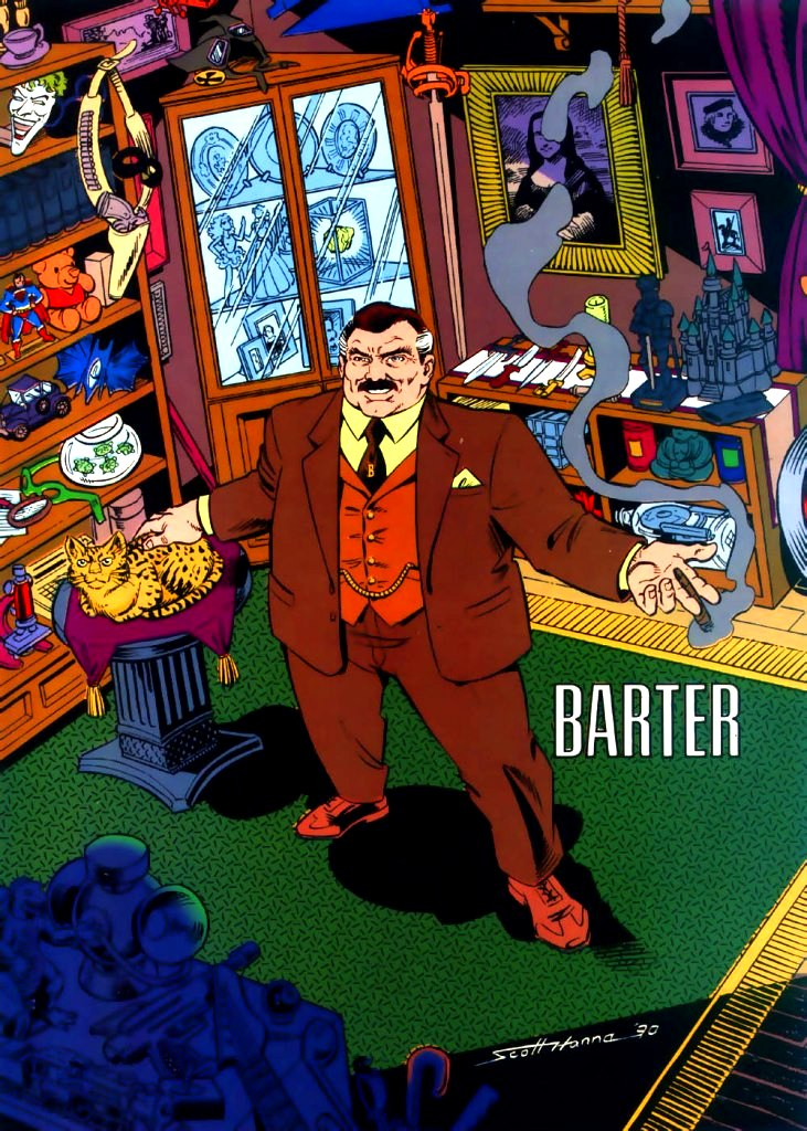 Barter (New Earth) | DC Database | Fandom powered by Wikia
