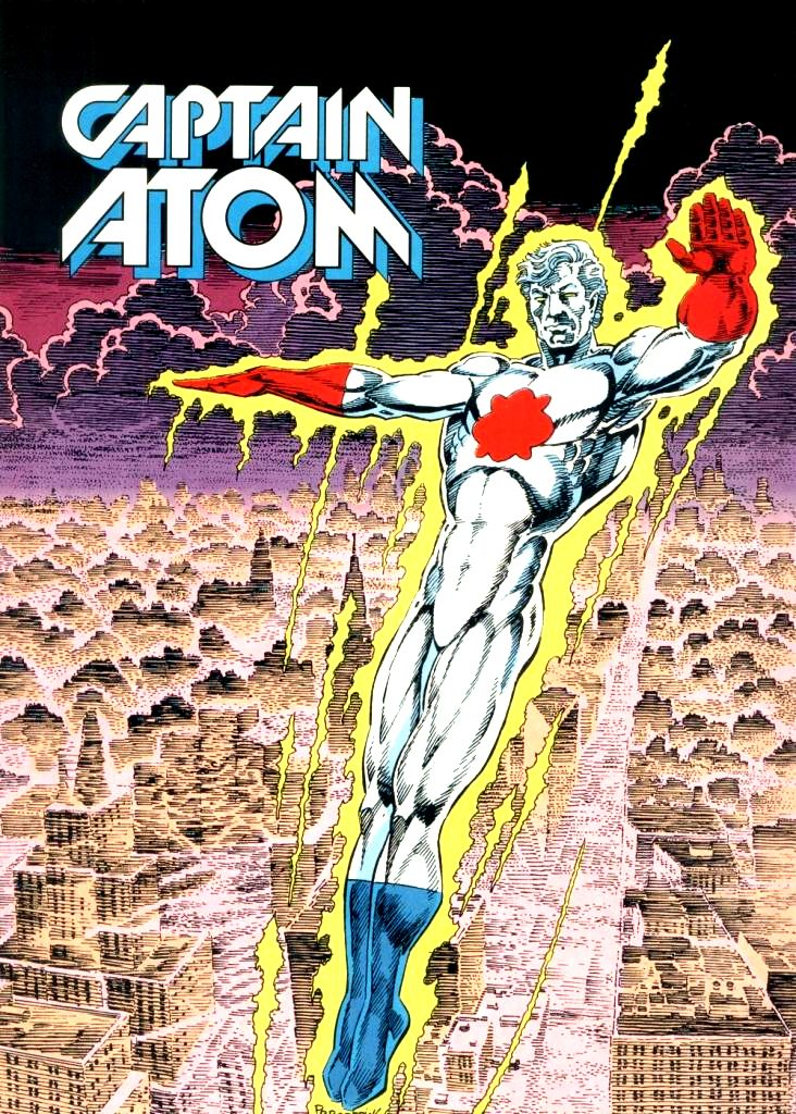 Znalezione obrazy dla zapytania captain atom dc comics