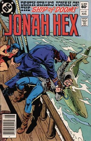 Cover for Jonah Hex #63 (1982)