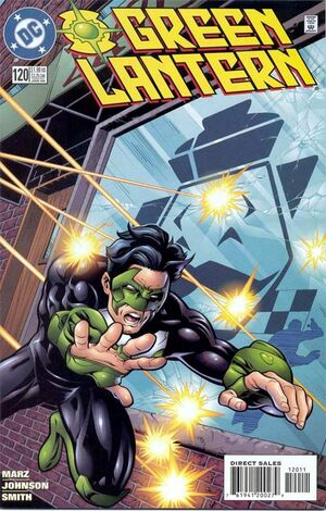 Cover for Green Lantern #120 (2000)