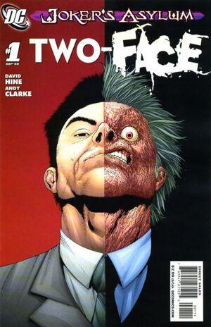 Cover for Joker's Asylum #1 (2008)