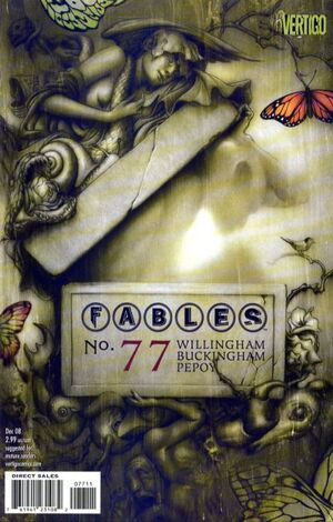 Cover for Fables #77 (2008)